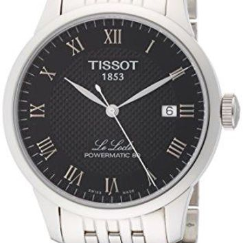 Tissot Le Locle Powermatic 80 Automatic Black Dial Mens T006. 407. 11. 053. 00