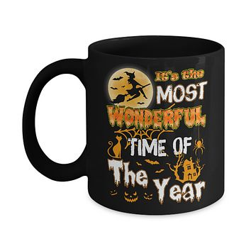 Halloween It's The Most Wonderful Time Of The Year Witches Mug