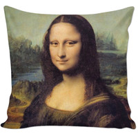 Mona Lisa Pillow