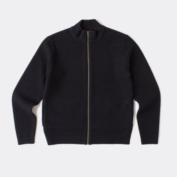Boiled Wool Track Jacket