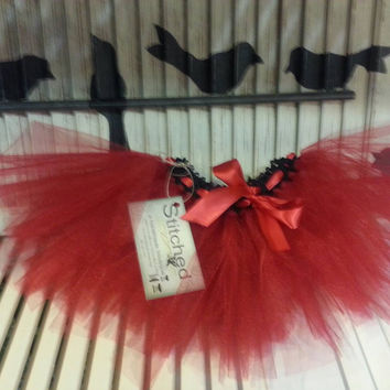 Tutu Red Tutu Skirt Baby Tutu Toddler Tutu Birthday Tutu