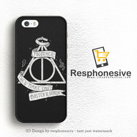 Deathly Hallows Harry Potter iPhone 5 | 5S Case Cover