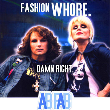 Absolutely Fabulous 27x40 Movie Poster