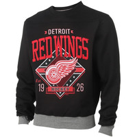 Detroit Red Wings Game Day Crewneck Sweater – Black