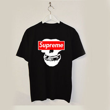 Supreme x Misfits dope swag T-shirt unisex adults USA