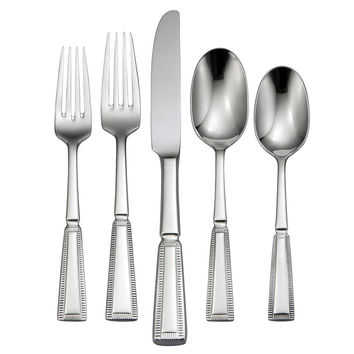 Oneida Palisade 46 Piece Fine Flatware Set, Service for 8