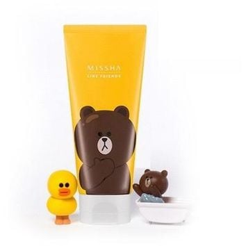 MISSHA + LINE FRIENDS Flower Bouquet Cleansing Foam
