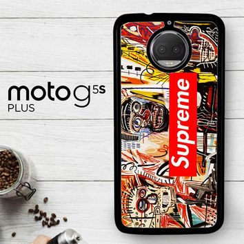 Supreme To Release Collection Featuring Basquiats V1635  Motorola Moto G5S Plus Case