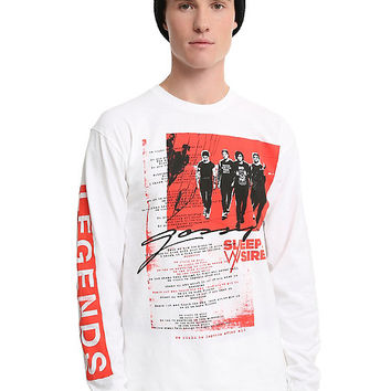 Sleeping With Sirens Legends Long-Sleeve T-Shirt