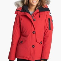 Women's Canada Goose 'Montebello' Slim Fit Down Parka with Genuine Coyote Fur Trim,