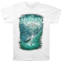 Of Mice & Men Men's  Ice Age T-shirt White Rockabilia