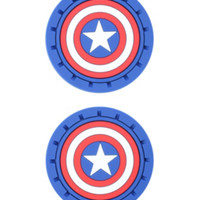 Marvel Captain America Car Cup Holder Coaster 2 Pack