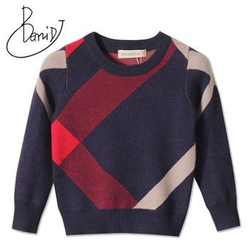 Cardigan For Girls Brand Design Wool Cotton Knitwear Winter Infant Sweater Children Clothes Boys Sweater Kids Baby Pullover