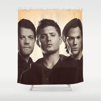 SUPERNATURAL Shower Curtain by Hands in the Sky