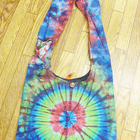 Tie Dye Hippie Purse Bag #H6