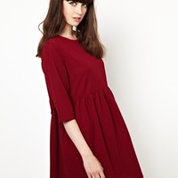 The WhitePepper Smock Dress with Tie Waist at asos.com