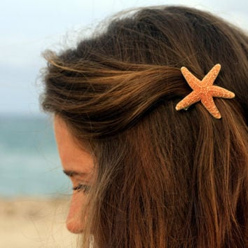 Sugar Starfish Clip  Small by peacelovestarfish on Etsy