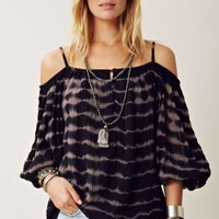 NIGHT JASMINE BACKLESS TUNIC