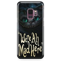 Cat Cheshire Samsung Galaxy S9 Case | Casefantasy