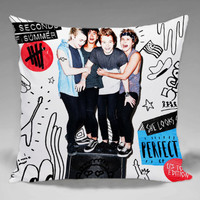 5SOS Fans club - Square and Regtagular Pillow Case One Side/Two Side.