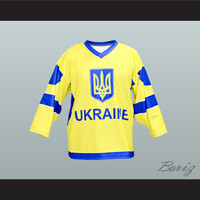 Ukraine National Team Hockey Jersey New Any Player or Number