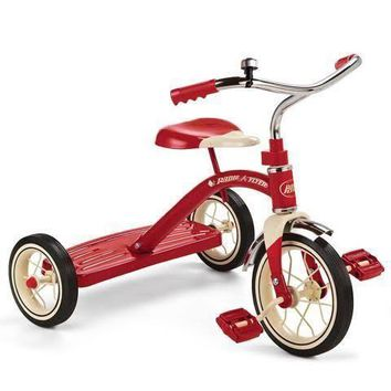 Radio Flyer 34B Classic 10 in Kids Tricycle Trike Red