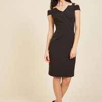 Craving Chic Sheath Dress | Mod Retro Vintage Dresses | ModCloth.com