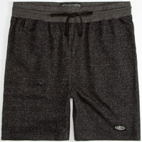 Brooklyn Cloth Mens French Terry Shorts Heather Black  In Sizes