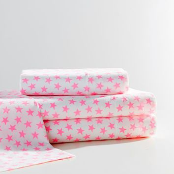 The Emily & Meritt Electric Star Sheet Set
