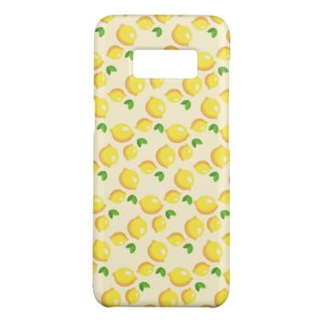 Lemon Pattern Case-Mate Samsung Galaxy S8 Case