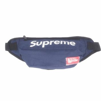 Men's and Women's Supreme Chest Pockets Oxford Casual Riding Bag 045