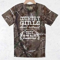 Women's Country Girl® Reload - Realtree® Tee