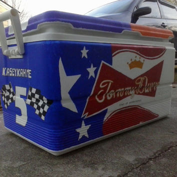 Large Custom Painted Cooler; Personalized anyway you would like!!
