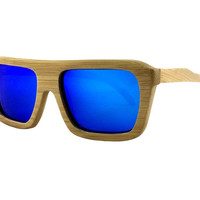 Men Wood Polarized Sunglasses