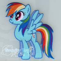 My Little Pony Friendship is Magic RAINBOW DASH by GravityToys