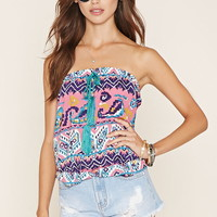 Abstract Print Tube Top