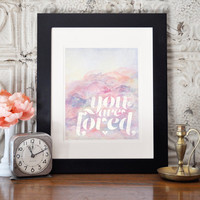 You Are Loved Printable Art,Pastel Watercolor Art, Wedding or Anniversary Printable, Love Art, Typographic Printable, Instant Download