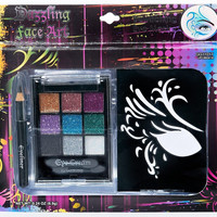 Dazzling Face Art Makeup Kit