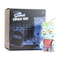 Kidrobot The Simpsons Zombie Bart Action Figure