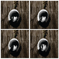 The Beatles - vintage style pendant with chain - choose your favorite