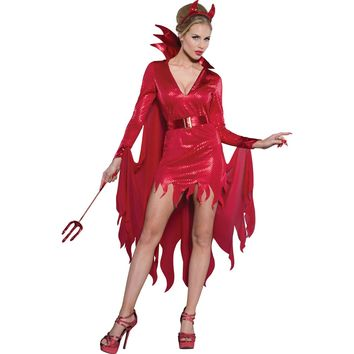 Hot Stuff Costume For Women