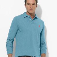CLASSIC-FIT LONG-SLEEVED POLO