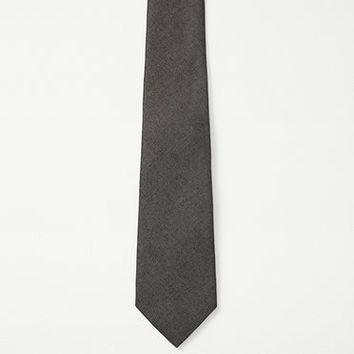Rag & Bone - Chambray Tie, Black Size 1