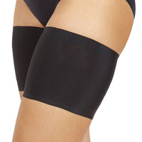 Bandelettes UNISEX BLACK - Elastic Anti-Chafing Thigh Bands Black