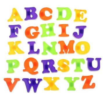 Fashion Fridge Magnet Baby Child Toy A-Z Educational Alphabet 26 Letters