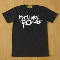 Retro My Chemical Romance Black T-shirt look Size M L XL