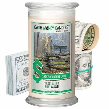 Smoky Mountains Cabin | Cash Money Candle®