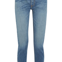 RE/DONE - Originals High-Rise Ankle Crop slim-leg jeans