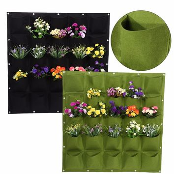 20 Kinds Pocket Wall Vertical Garden Grow Bags For Plants Flower Hanging Felt Planter Bags for Garden Indoor Outdoor Grow Bag