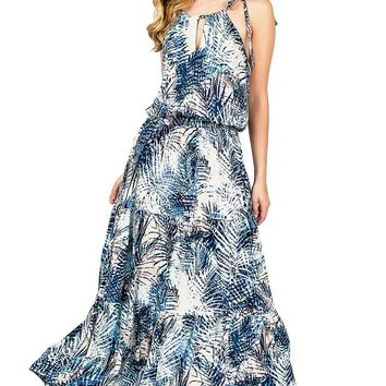 Palms Shadow Maxi Dress